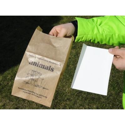 torebki papierowe na psie kupy