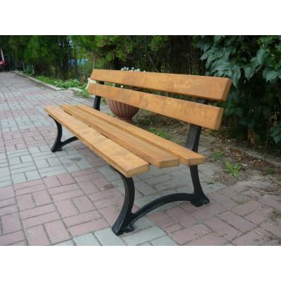 mocna ławka parkowa