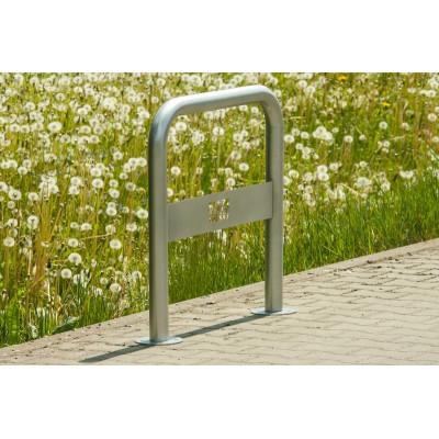 nowoczesny stojak rowerowy