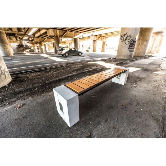 Miejska ławka Roma Prestige