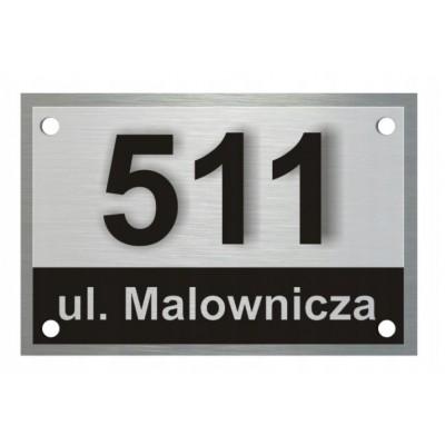 Tabliczka adresowa na dom...