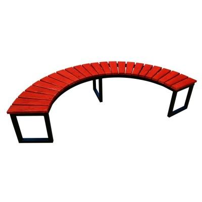 okrągła ławeczka